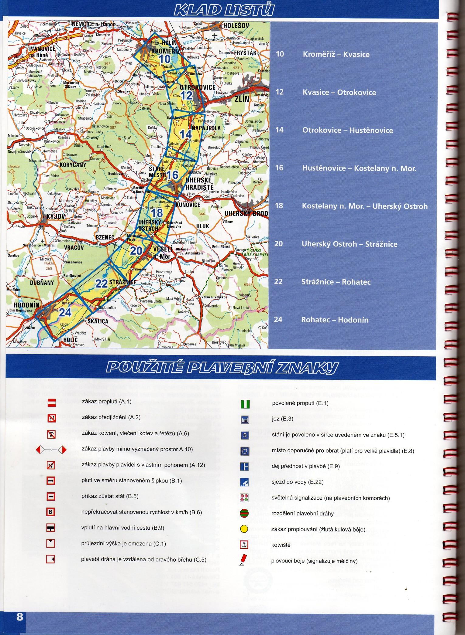Plavebni Mapa Batova Kanalu Madlenkapluje Cz